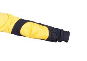 Poron protection on elbows